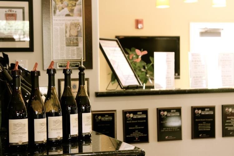 David Girard Winery Tasting Room
