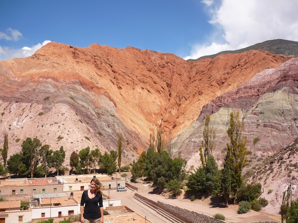 Hill of Seven Colors in Purmamarca, Argentina