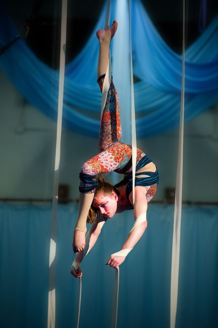 Aerial Straps Contortionist