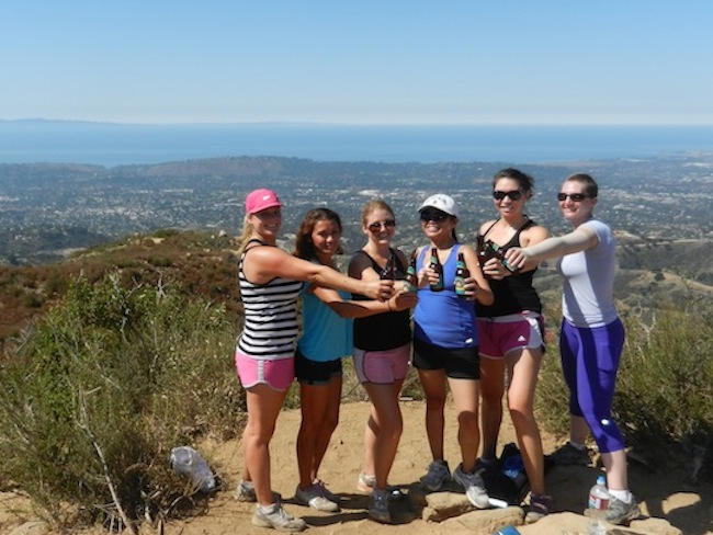 Hiking in Santa Barbara