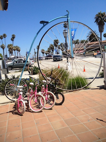Wheel Fun Bike Rentals for Santa Barbara Bucket List day