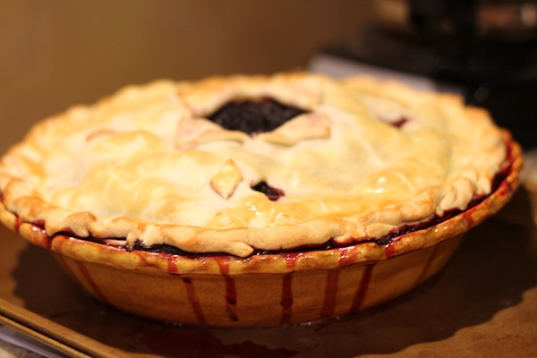 Blackberry pie success