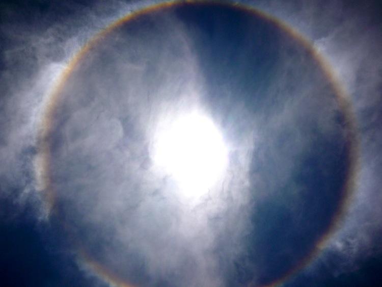 RING AROUND SUN