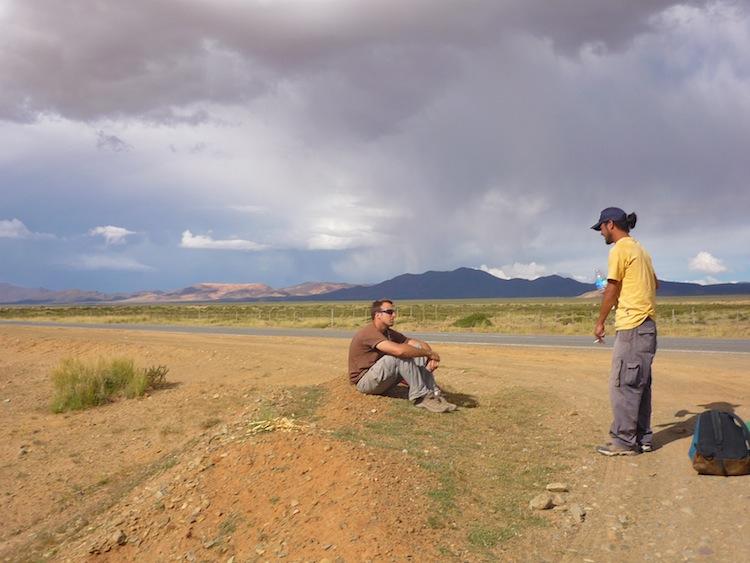 Desert in Argentina