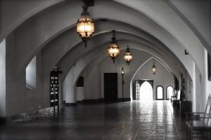 Hallway of Santa Barbara Courthouse