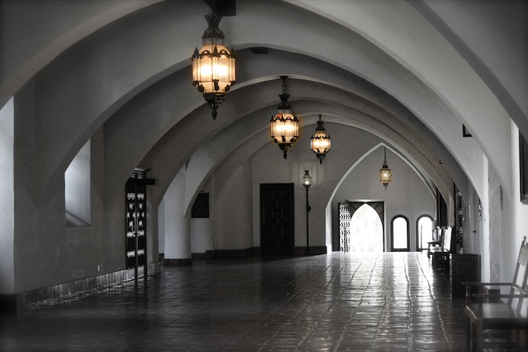 Hallway of Santa Barbara Courthouse