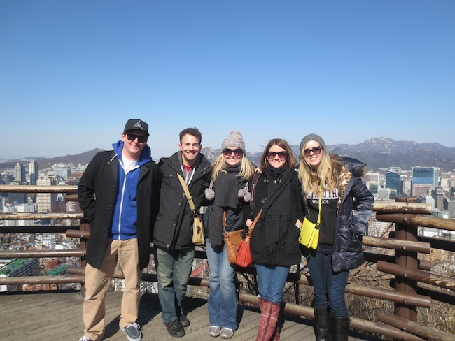 Touring Seoul