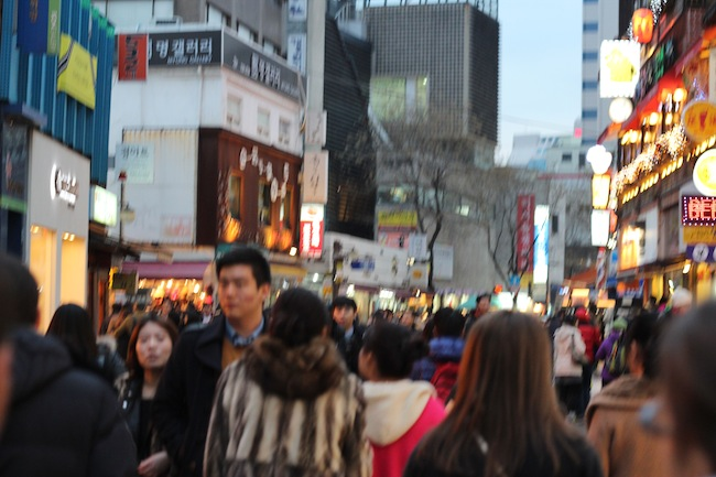 Walking in Seoul
