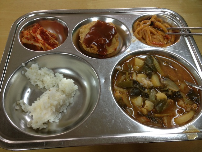 School Lunch in Korea