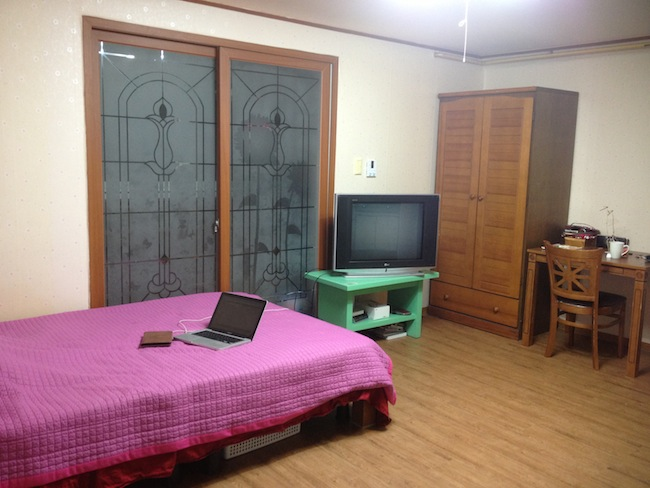 My apartment in Korea