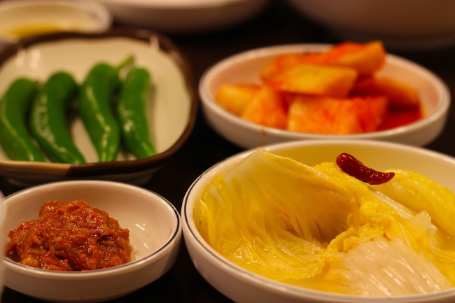 Side dishes in Korea