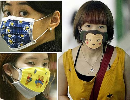 Sick masks in Korea