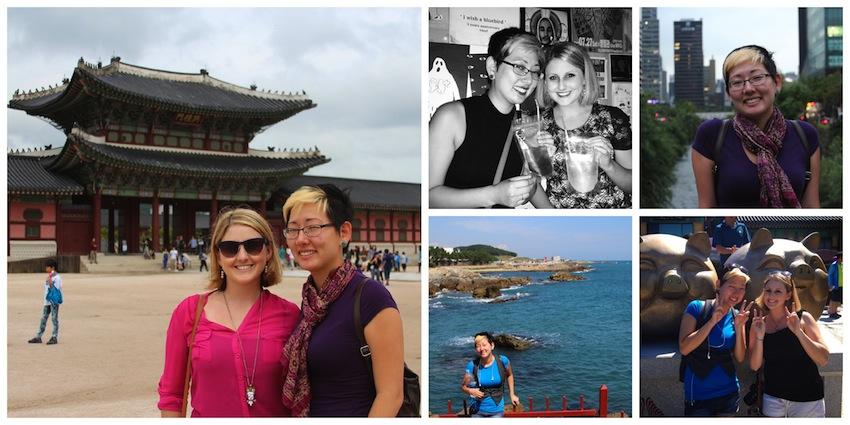Sister visits Korea