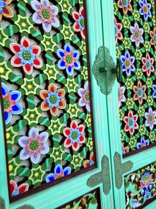 Door at Yongung Temple, Busan