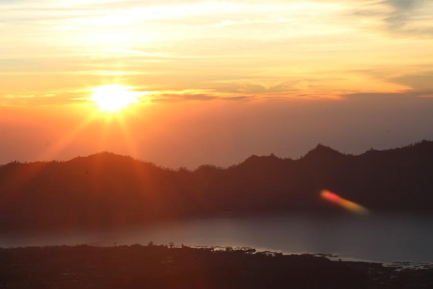 Sunrise in Bali