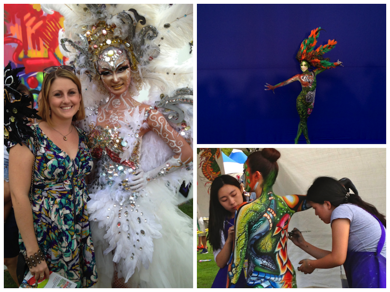 International Body Painting Festival Daegu Korea