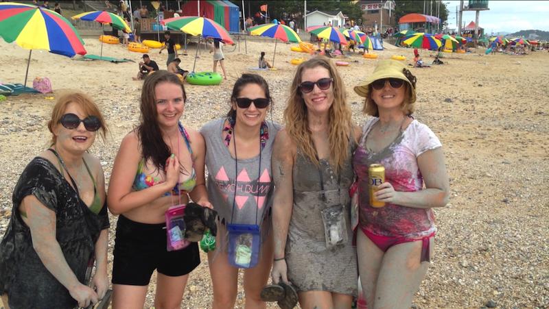 Boryang Mud Fest, Korea