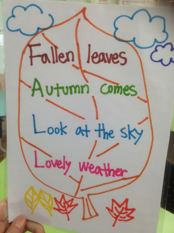 Acrostic poem: Fall