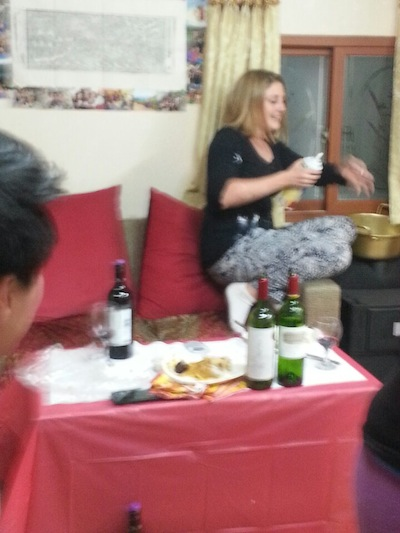American Thanksgiving in Korea