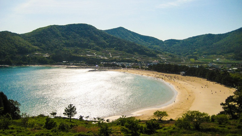 Sangju Beach Namhae Island