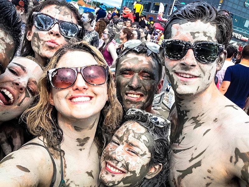 Boryeong Mud Festival mudfest