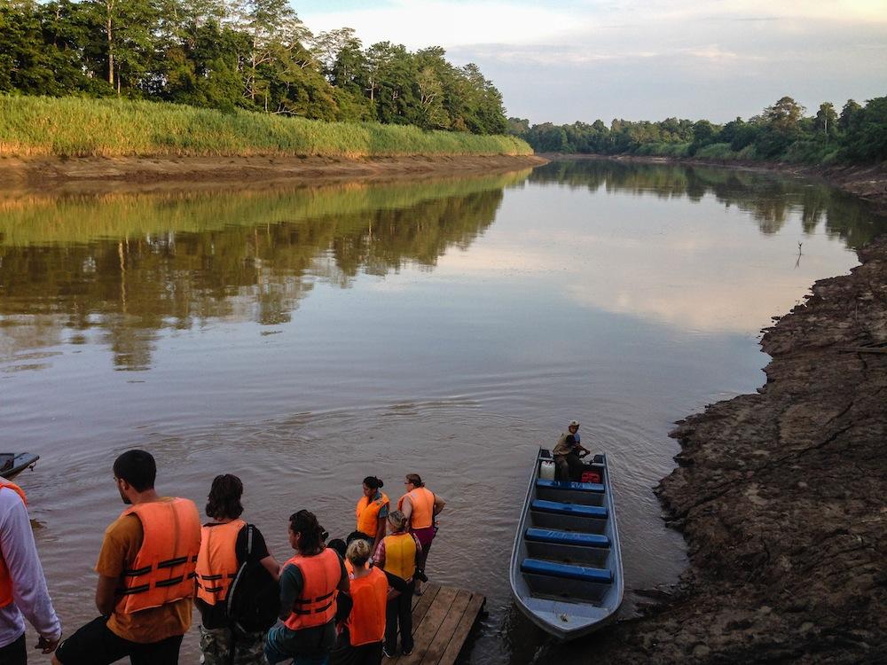 Kinabatangan River Borneo