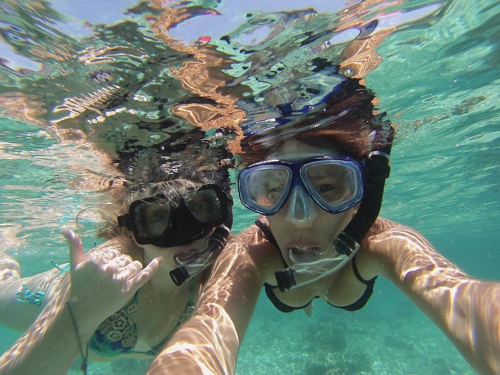 Snorkeling Mabul island