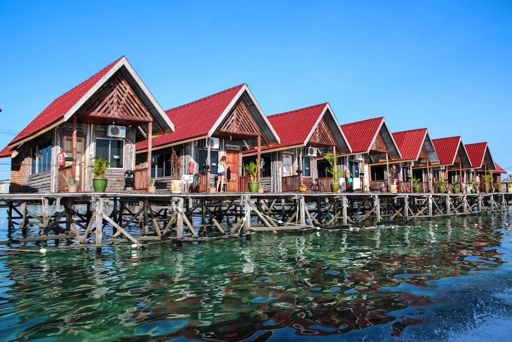 Resort on Mabul island