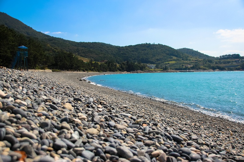 Yeompo Beach Goehung Island Korea