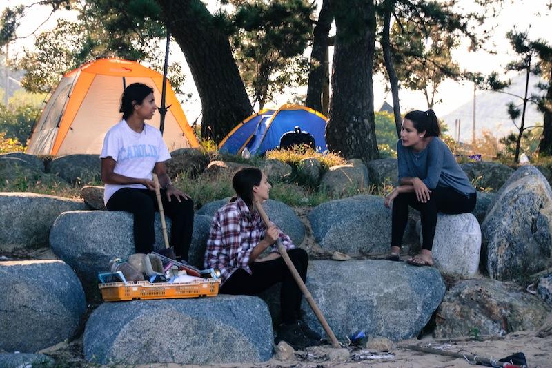 Camping Narodo Beach Goheung Island