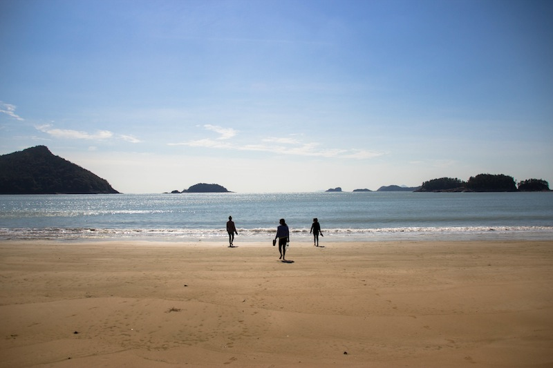 Beach in Goheung Korea
