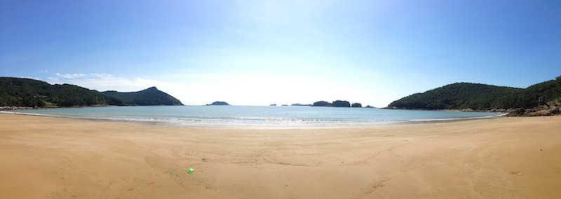 Beach in Goheung Island
