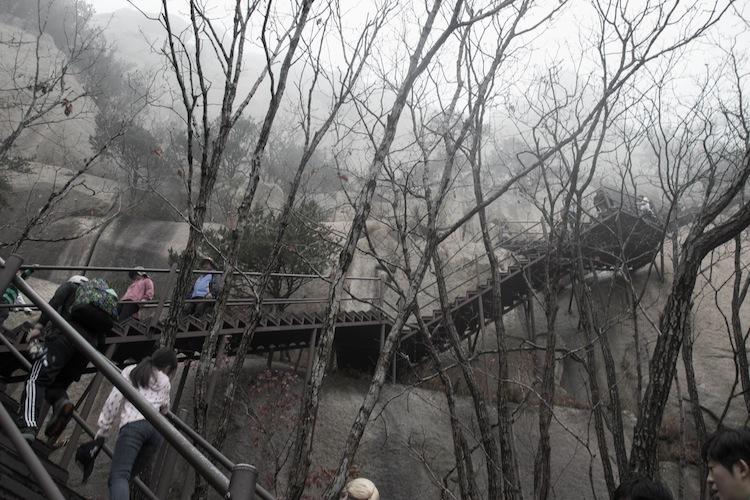 Hiking Seoraksan
