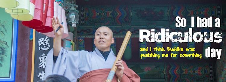 Buddhist Monk Beomeosa Busan