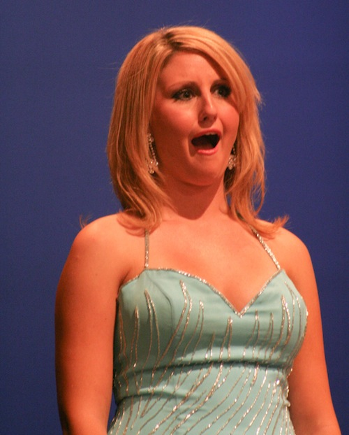 Surprised pageant face