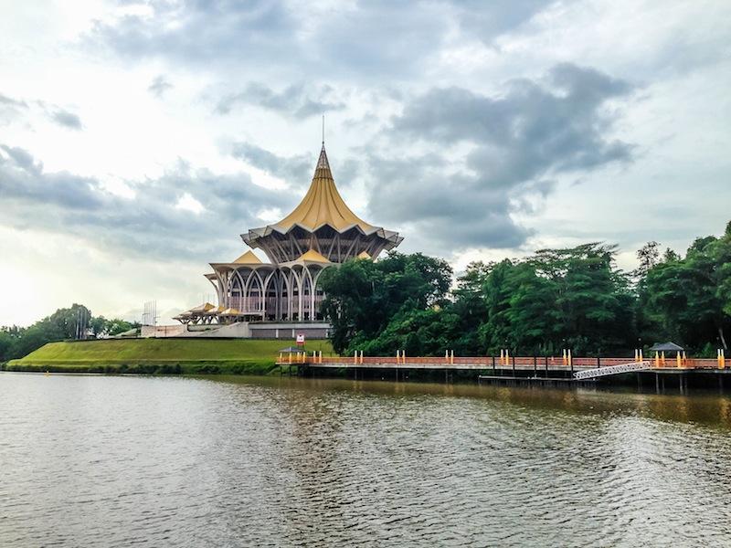 Kuching Borneo Government building