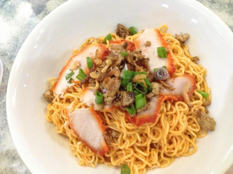 Malaysian noodle dish in Kuching