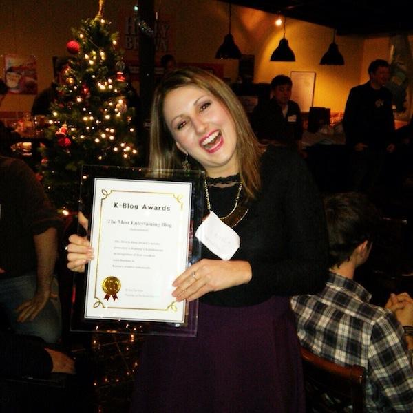 Korea's Most Entertaining Blog Award