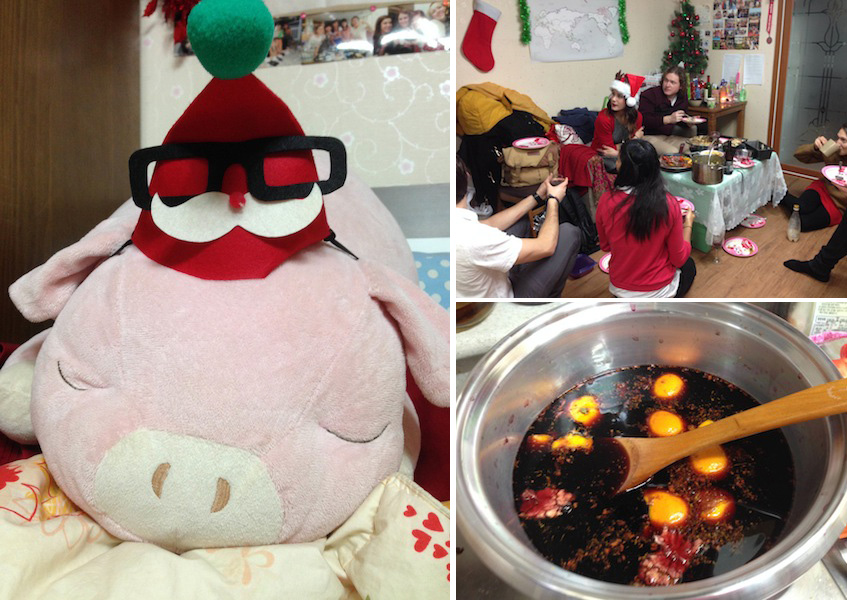 Christmas abroad in Korea