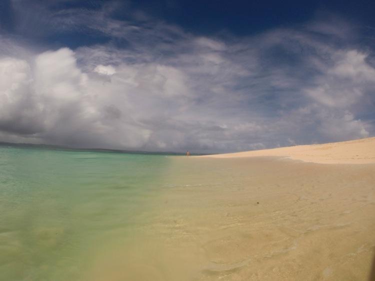 Daku island beach Siargao Philippines