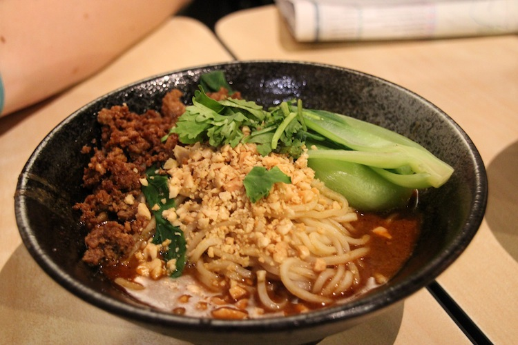 food in Taiwan noodles