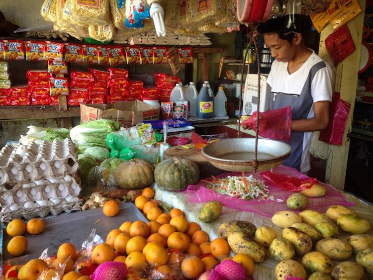 fruit market Siargao philippines