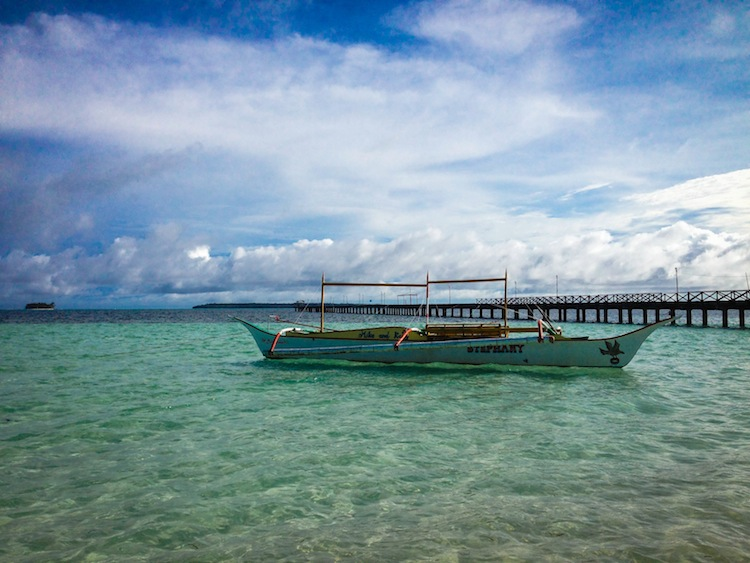 fishing boat Siargao Philippines