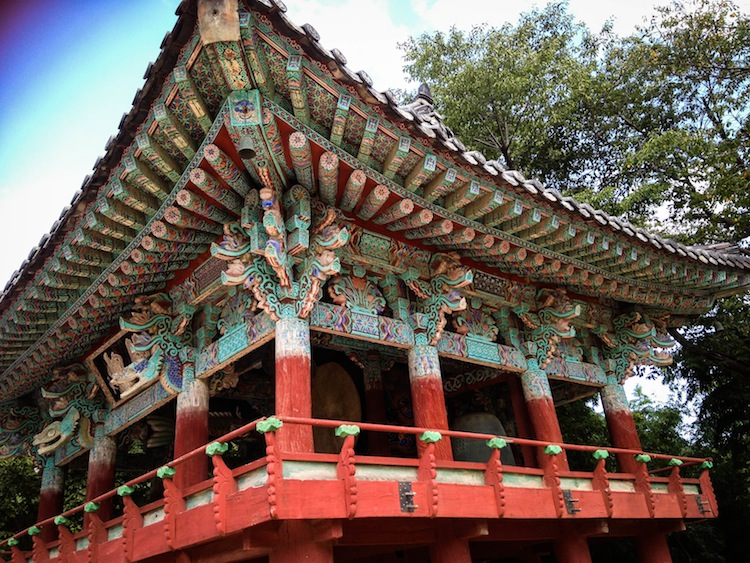Beautiful details of Korean temples