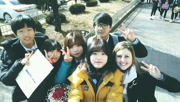 Teaching in Korea saying goodbye