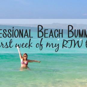 RTW trip week 1