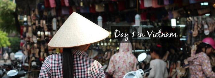 streets of Hanoi Vietnam