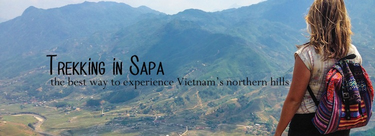 the best way to go trekking in Sapa