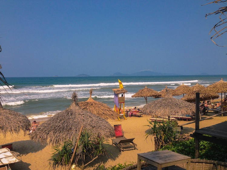 beach in Hoi An