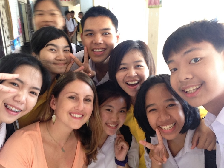 Teaching English in a Thai school
